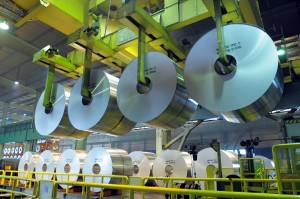 Hot rolled coils at Alunorf JV