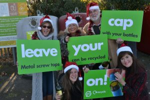 recycling campaign in Bracknell