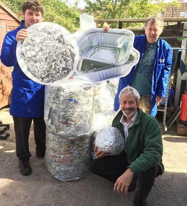 Taurus Celebrates The Forest's Foil Recycling Success
