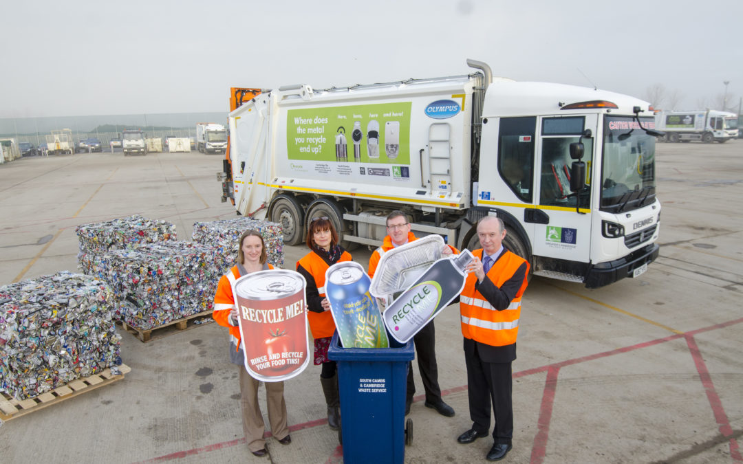 Cambridge City and South Cambridgeshire District pledge to 'Make their metals matter'