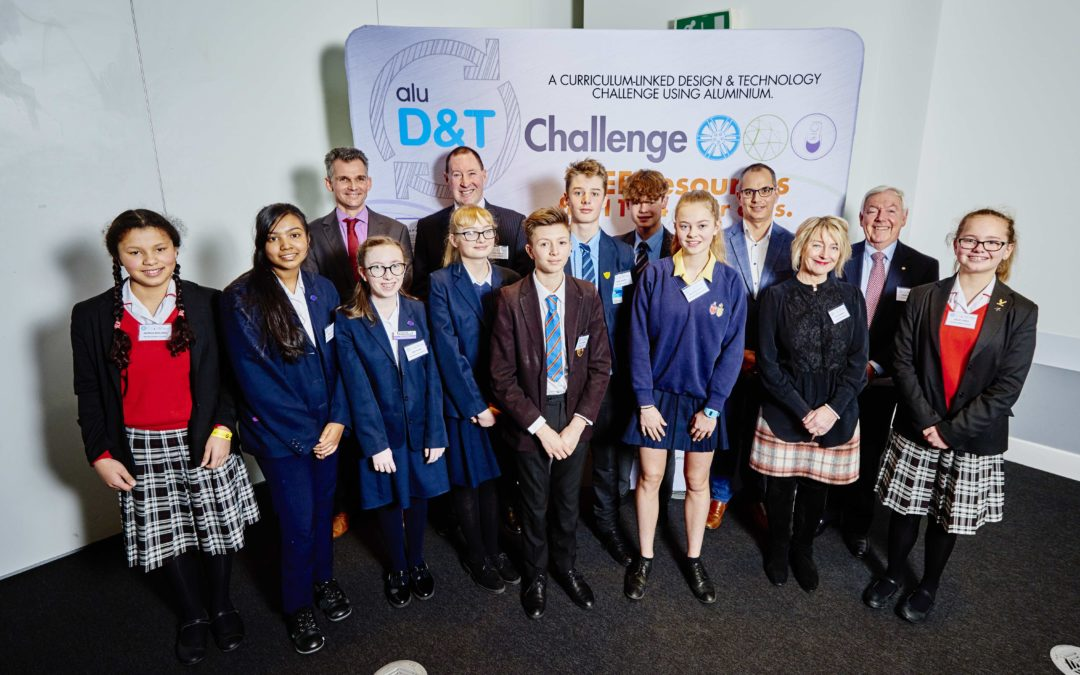 Winners announced in aluminium industry's national schools sustainable design competition – the Alu D&T Challenge
